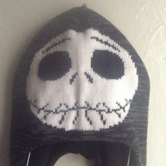 fashion black skull white style tumblr instagram winter outfits cotton
