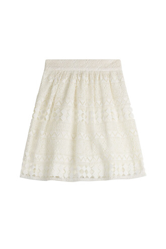 skirt crochet skirt lace crochet white