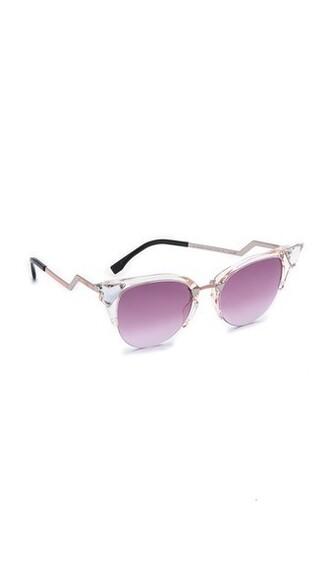 light pink light sunglasses pink