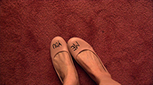 miranda july,shoes,pink shoes,ballerina