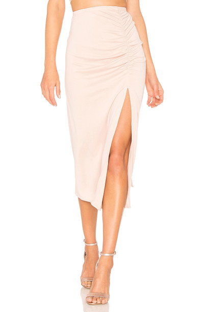 Backstage skirt blush