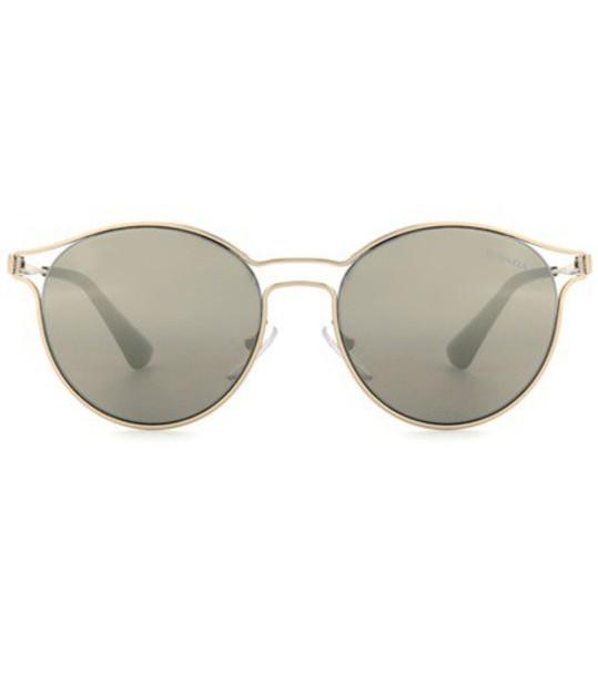 Prada sunglasses round sunglasses gold