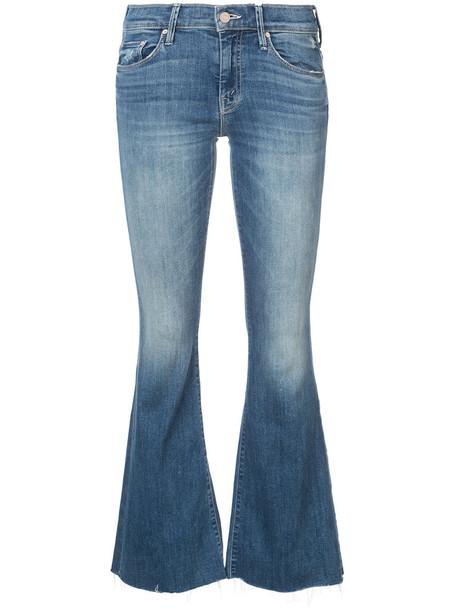Mother jeans women spandex cotton blue 24