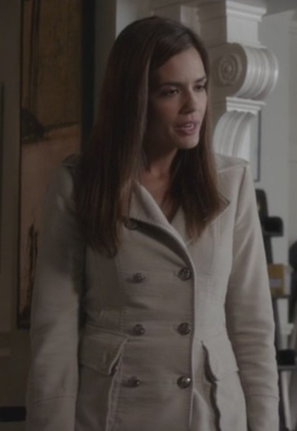 coat melissa hastings torrey devito torrey devitto pretty little liars beige