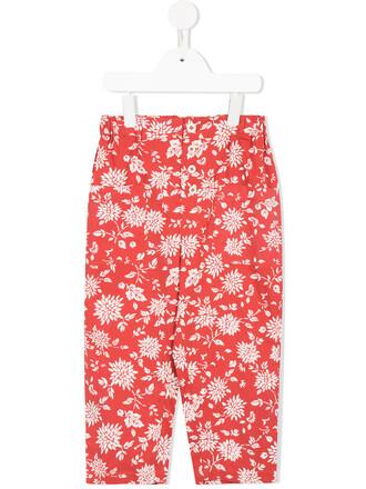girl toddler red pants