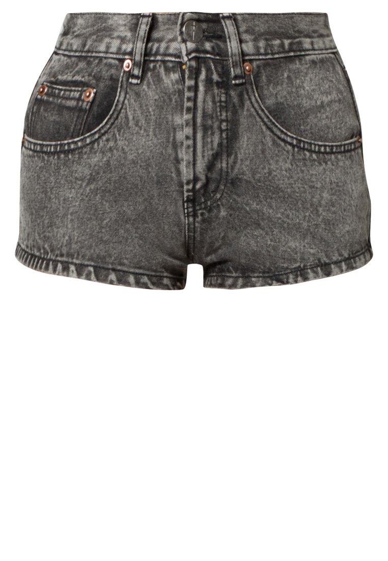 Bitching & Junkfood RAFAEL - Denim shorts - grey - Zalando.co.uk