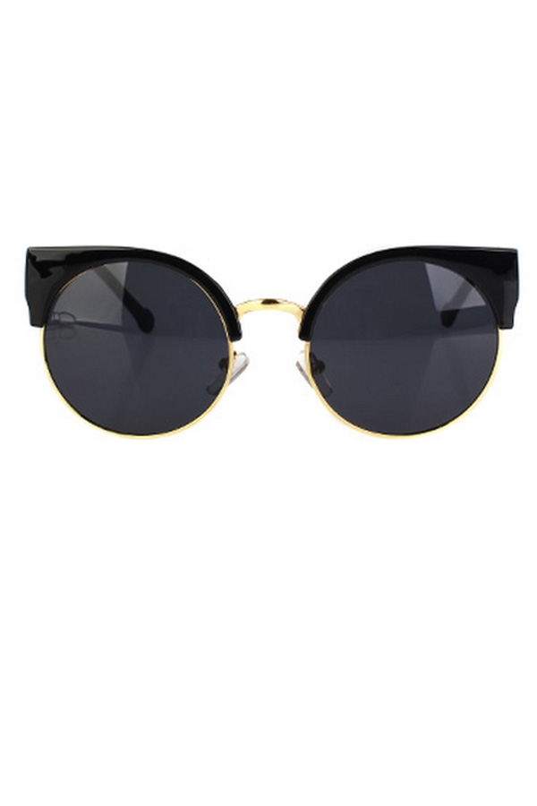 Vintage Round Sunglasses - OASAP.com