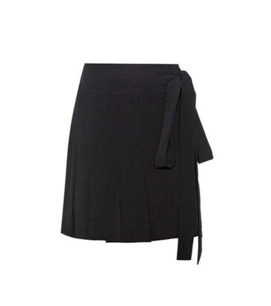 MARNI skirt wrap skirt pleated black