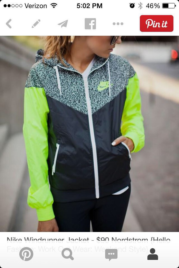 ef39a021025c Online Shop NIKE spring Autumn new Women s sports jacket hooded ...