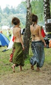 pants,harem pants,pattern,hippie