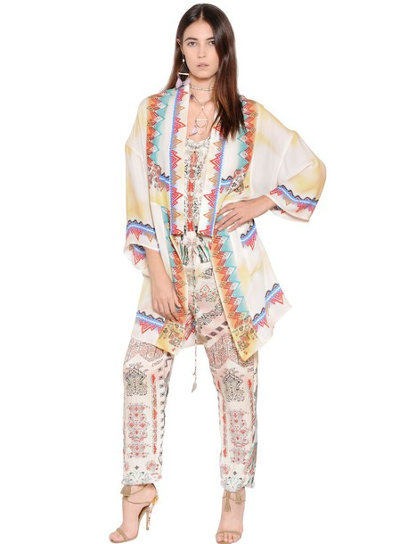 ETRO jacket chiffon style silk