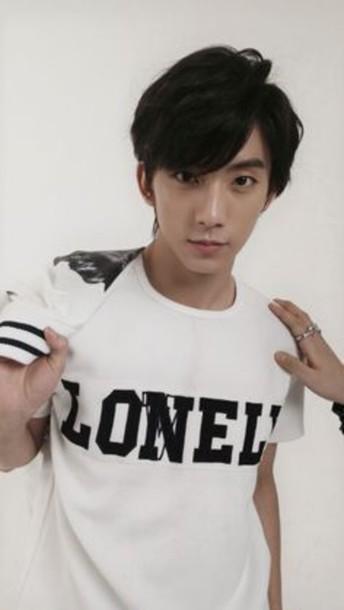 shirt korean fashion lonely b1a4 kpop tshirt