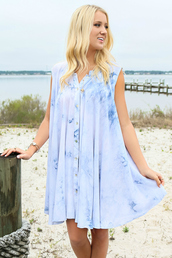 dress,amazing lace,beach dress,blue,tie dye,summer,spring,flowy