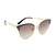 Gucci Decorness Cat Eye Sunglasses - Black/Grey