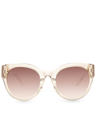 oversized sunglasses nude