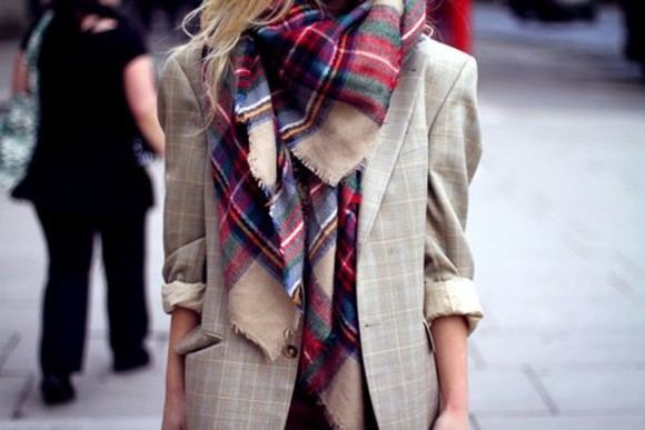 jacket tweed blazer