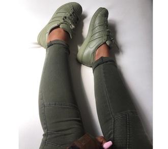 shoes kaki adidas shoes adidas