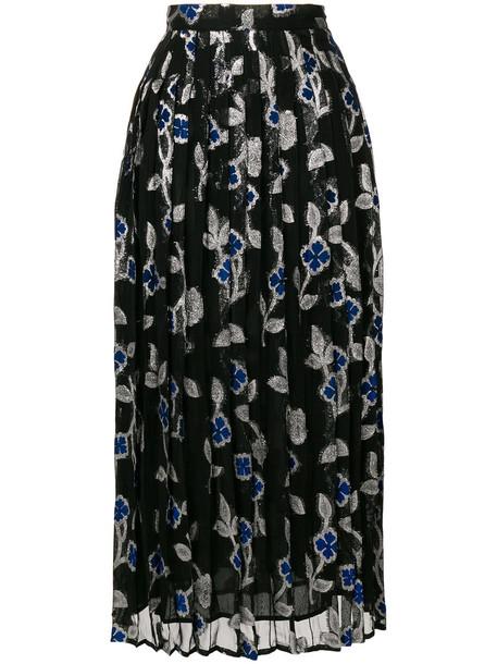 Dodo Bar Or skirt metallic women black