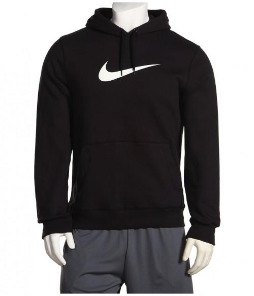 Sweater Nike Black White Swoosh Sweatshirt At Cravetay Wercharm