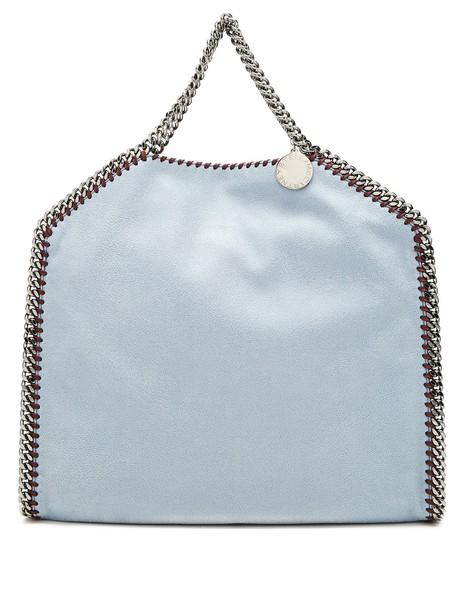 Stella McCartney bag shoulder bag suede light blue light blue