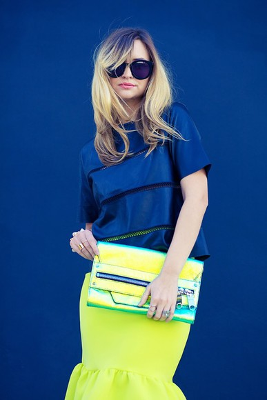 late afternoon t-shirt shoes bag sunglasses jewels skirt