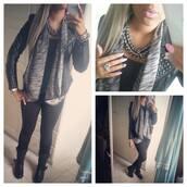 coat,cardigan,grey,asymmetrical