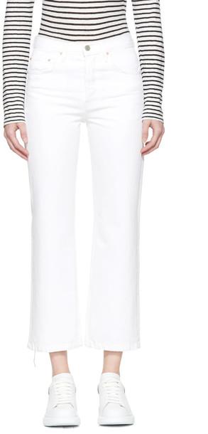 GRLFRND jeans white