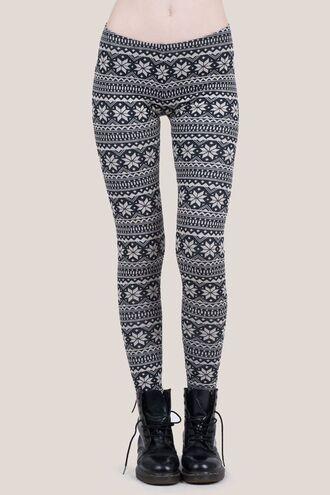 pants printed leggings