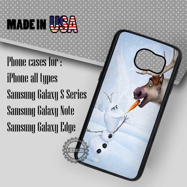 Samsung S7 Case - Olaf And Sven- iPhone Case #SamsungS7Case #frozen #yn
