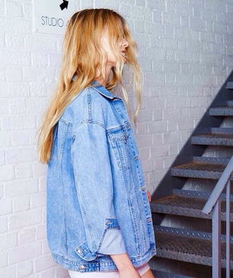 jacket denim jacket denim tumblr clothes