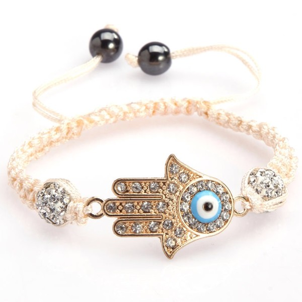 jewels evil eye bracelet hamza kabbalah evil eye