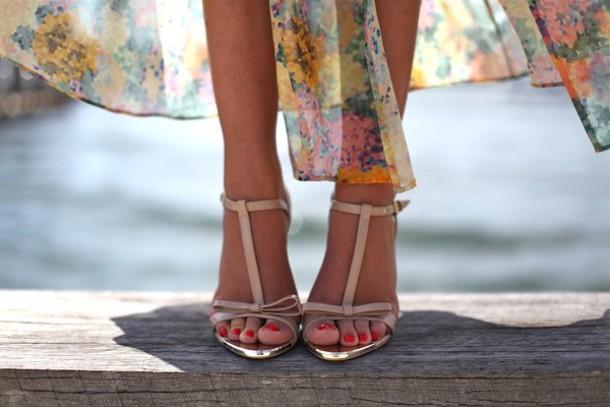 pink shoes zara silver