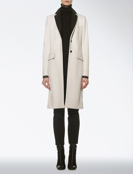 WOOL DAKOTA COAT at Joseph