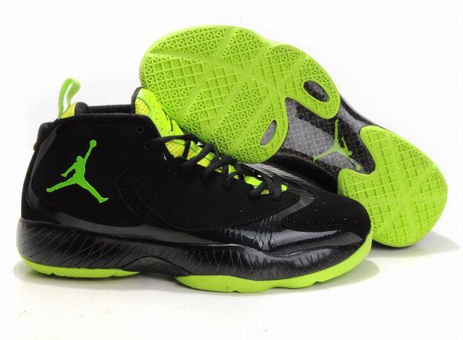 Nike Air Jordan 2012 Black/Green Men's