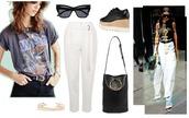 zanita,blogger,pajamas,jacket,shorts,bag,shoes