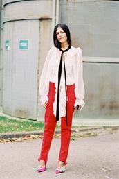 vanessa jackman,blogger,blouse