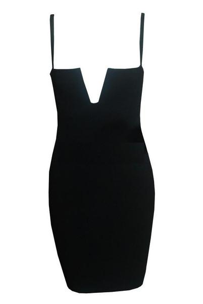 Catlin V Bodycon Dress | Outfit Made
