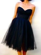 dress,holiday dress,tutu,tumblr,pinterest,black dress,strapless dress,found on pintrest,little black dress,formal black dress,blue prom dress,black,tulle skirt,princess,retro,vintage,classy,sweetheart,prom,tulle dress,formal dres,black prom dress,evening dress,etsy,sweetheart neckline,blue tulle dress,short dress,navy dress,skirt,tulle tutu black,wedding clothes,bridesmaid