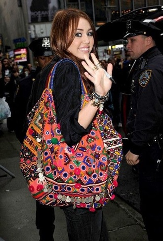 bag gypsy miley cyrus indie india westbrooks native american off the shoulder school bag