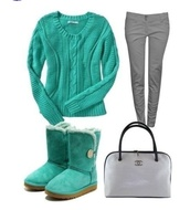 shoes,green,ugg boots,grey