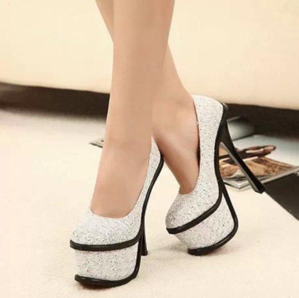 shoes white black heels formal