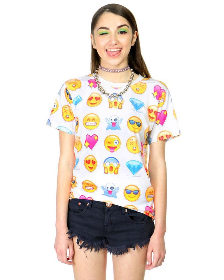 Aliexpress.com : Buy Hot fashion emoji t shirt emoticons tshirt summer funny clothes unisex women/men top tees t shirt clothing Free Shipping from Reliable clothes dye suppliers on Vogue Official Online Shop