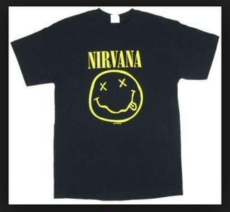 t-shirt nirvana big