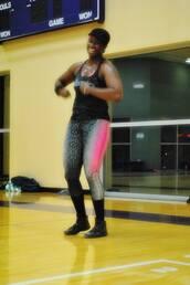 pants,black,workout,grey,pink,hot pink,leggings,yoga,spandex,gym,gym clothes,design