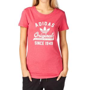 Adidas Originals Uni Graphic T-Shirt - Blaze Pink Melange