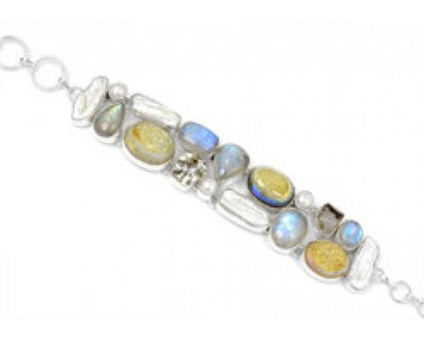 jewels stainless steel bracelets handmade jewelry gemstone bracelets charm bracelet