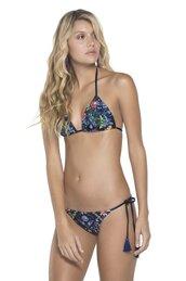 swimwear,bikini,floral,bikini top,bikini bottoms,bikiniluxe,sexy bikini,blue,blue swimwear,swimwear two piece,dope swimwear,floral swimwear
