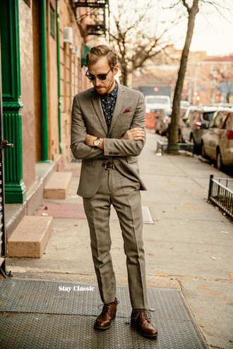 stay classic blogger mens suit tailoring classy menswear shirt shoes