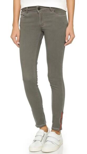 jeans skinny jeans zip