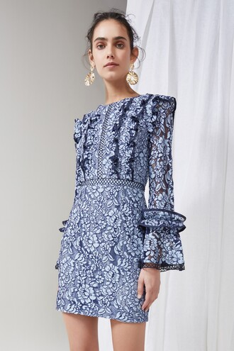dress lace dress long lace